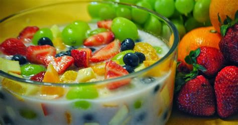 cara membuat salad buah yang nikmat beginilah cara membuat es cur yang segar dan nikmat