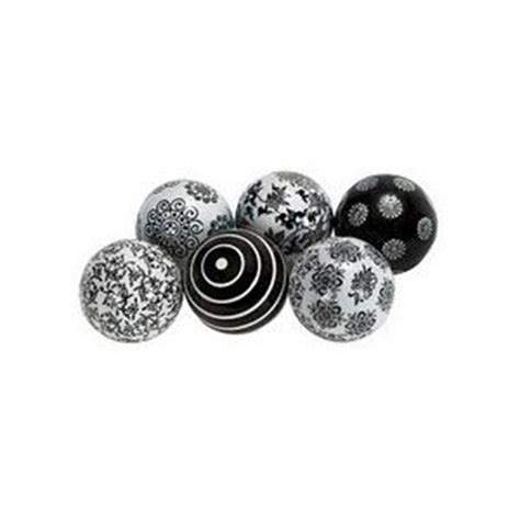 black and white balls beautiful black and white decorative ceramic s 6 3 quot d