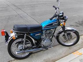 1975 Honda Cb125 Jenis Honda Cb 125 Cb Tasik S