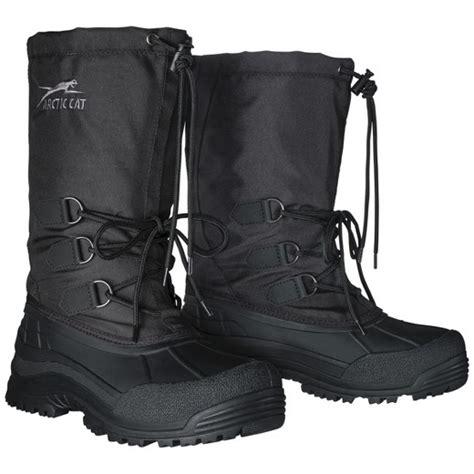 target snow boots mens s arctic cat sherbrook winter boots black target