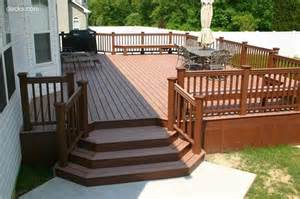 Deck Stairs Design Ideas Deck Stairs With Landing Pictures