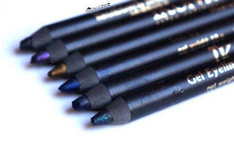 Eyeliner Kryolan ikonic gel eyeliner pencils review swatch price