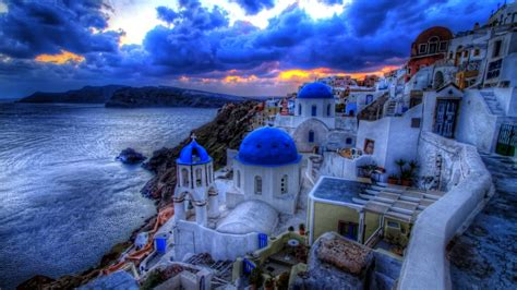 desktop themes greece greek architecture wallpapers best wallpapers