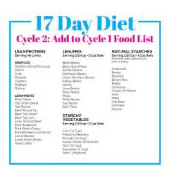 17 day diet cycle 2