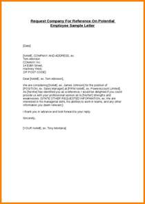 Reference Letter For Not So Employee 6 Reference Letter For Employee Ledger Paper