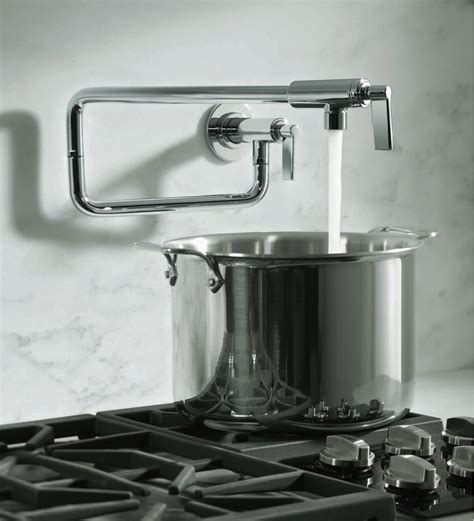 Pot Fillers and Commercial Style Faucets   houseproudblog