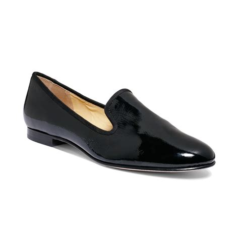 cole haan loafers for cole haan air sabrina loafers in black black patent lyst