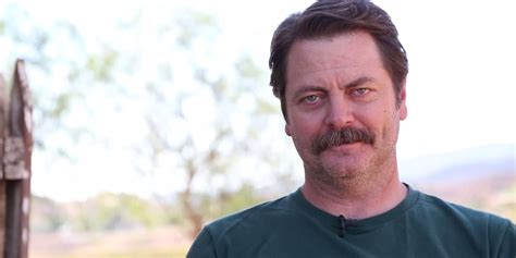 nick offerman everything s fine nick offerman narrating shower thoughts is why the