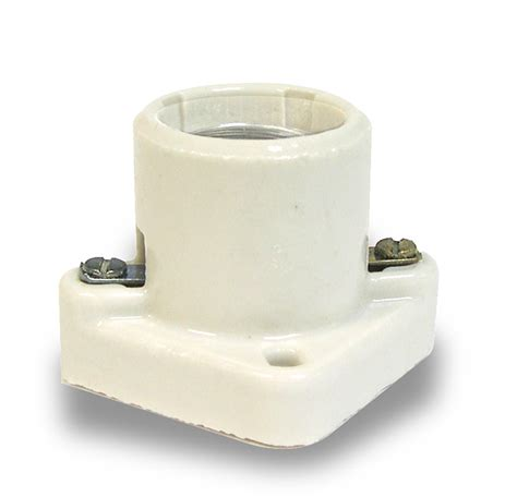 cleat socket l holder l socket l holder pony cleat porcelain medium base