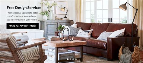 pottery barn interior design free interior design services pottery barn