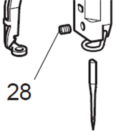 Set Screw For The Needle For Brother Baby Lock Multi