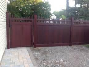 vinyl fence portfolio
