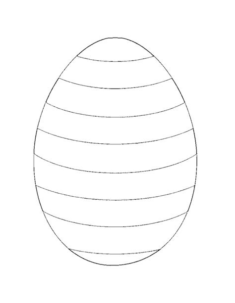 egg template coloring page free printable easter coloring pages for kids