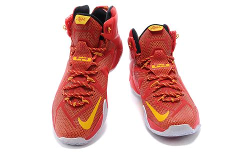 cheap basketball nike shoes cheap nike lebron 12 yellow pe basketball shoes for sale