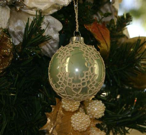 tatted christmas ornament 4 tatting pinterest