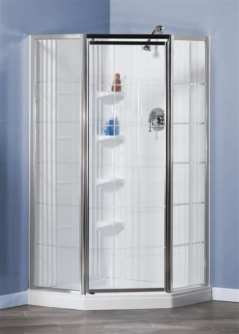 Home Depot Shower Stalls Canada Maax Lila 1 Shower Stall In White The Home