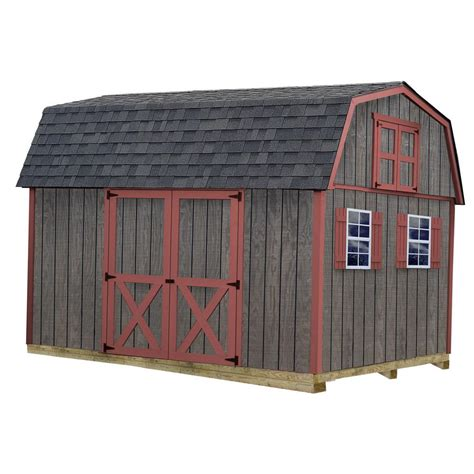 barns meadowbrook  ft   ft wood storage shed