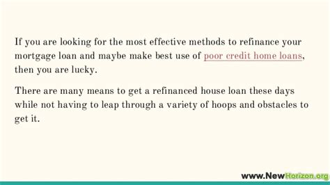 lowest housing loan tips to get the lowest home loan refinance rate