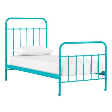 teal bed frame brand new sunday teal blue bed frame from domayne kids