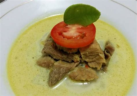 resep soto daging santan oleh indah cookpad