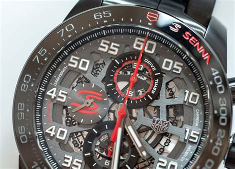 Tag Heuer Carerra F1 Edition 1 tag heuer heuer 01 formula 1 ayrton senna special edition watches on