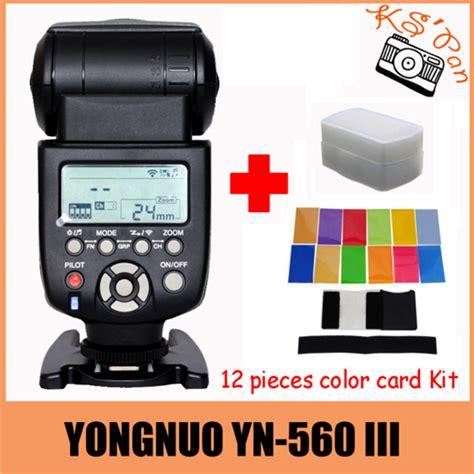 Yongnuo Yn 560 Iii yongnuo yn 560iii yn 560 iii yn 560 iii 2 4ghz wireless trigger speedlite flash for canon nikon