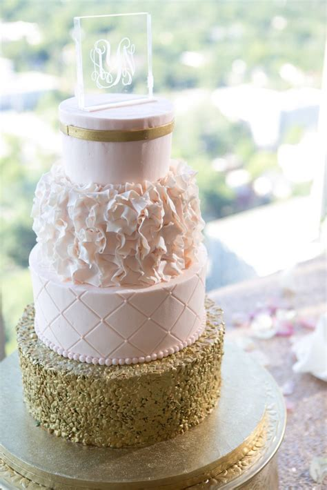 rose themed wedding favors my rose gold and gold themed summer wedding