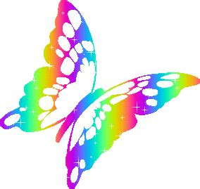 Xuping Set Kupu Kupu Free Box rainbow butterfly clipart single pencil and in color