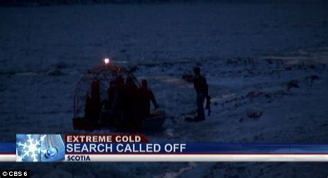 airboat fails attempts to rescue husky stranded on frozen new york river