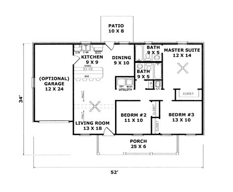 brittany downs ranch home plan 069d 0029 house plans and more