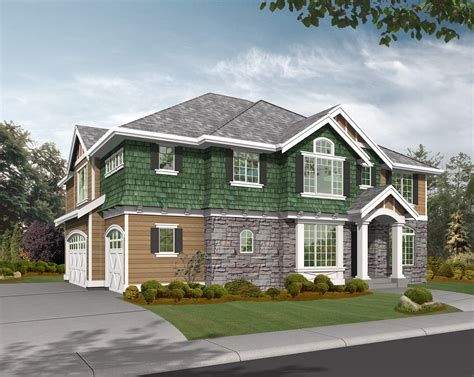 house plans with garage on side side entry garage perfect for corner lots 23134jd