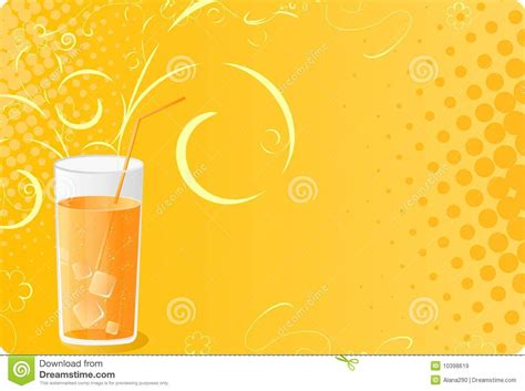 design banner juice halftone banner with juice glass royalty free stock images