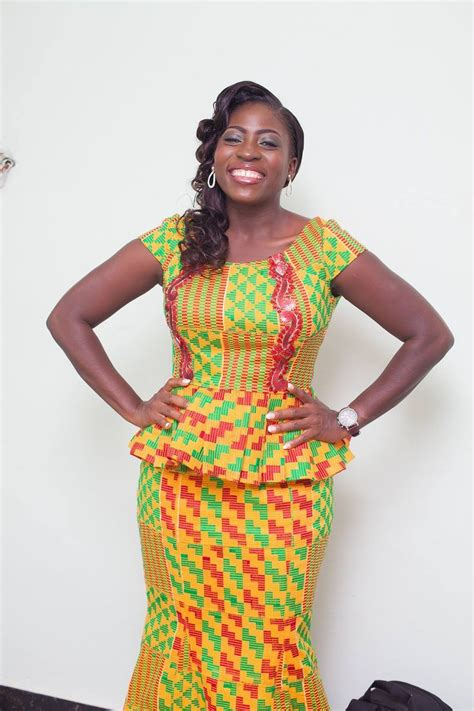 short kente styles kente for engagement google search sophie fashion