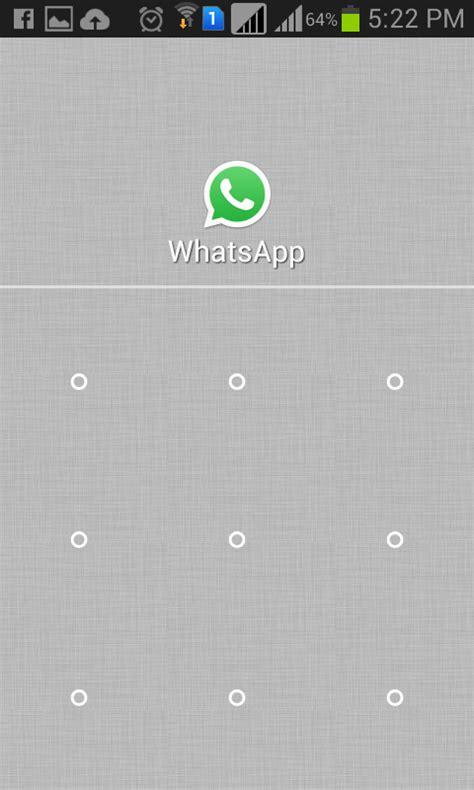 pattern lock on whatsapp how to unlock whatsapp pattern in android how to unlock