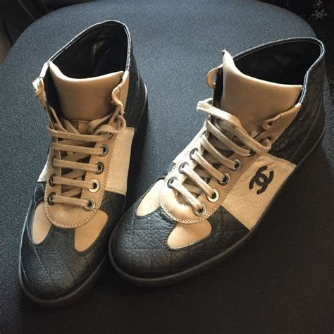 chanel high top sneakers 50 chanel shoes authentic chanel high top sneakers