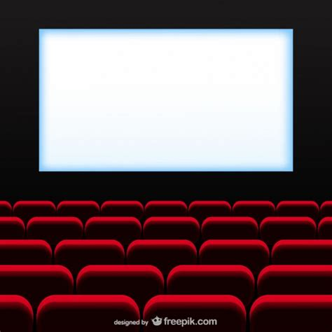 Movie Theater Vector Free Download Theatre Template