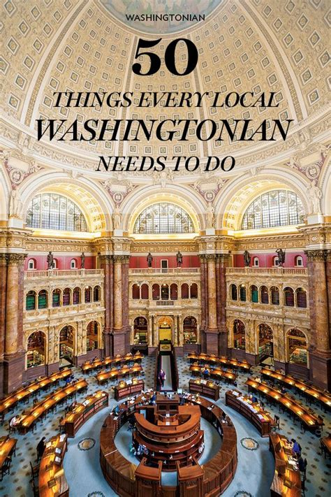 The Great Washington Bucket List 50 Things Every Local