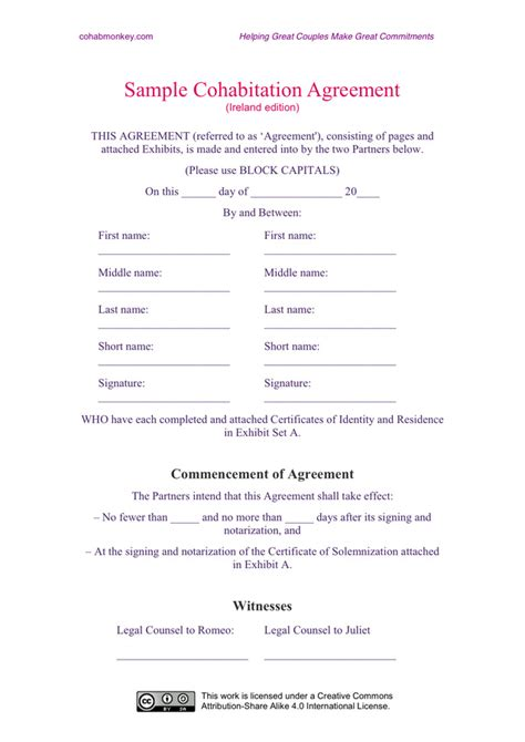 affiliate agreement template affiliate agreement template free templates resume