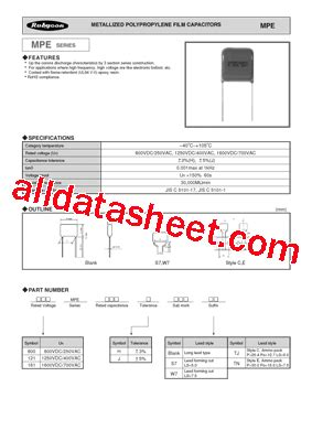 rubycon capacitor cross reference capacitor rubycon datasheet 28 images mmh datasheet pdf rubycon corporation ms7 datasheet
