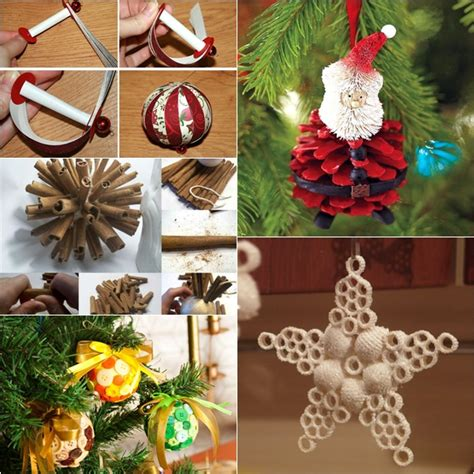 wonderful diy  homemade christmas ornaments
