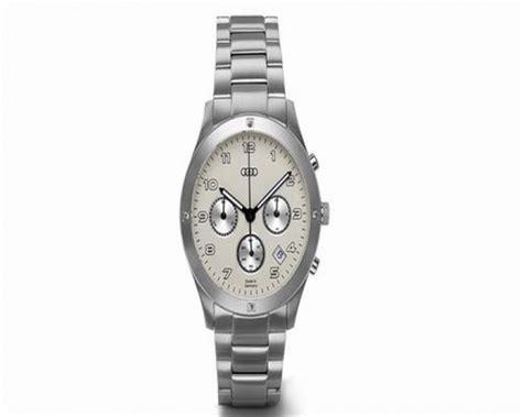 Audi Uhren Shop by Audi Damen Chronograph Edelstahl Uhren Chronographen