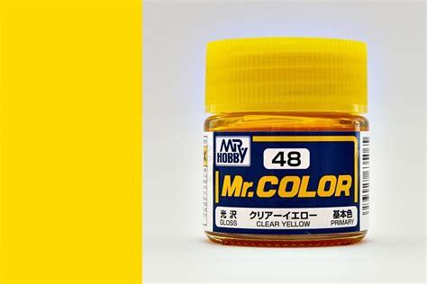 mr color c48 clear yellow