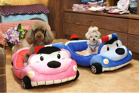 police car bed dog bed pet puppy cat cushion house made korea police car bed for small dogs ebay