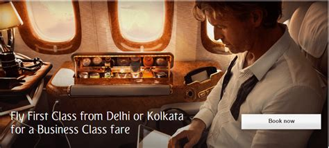emirates upgrade offer emirates offering first class upgrades on business class