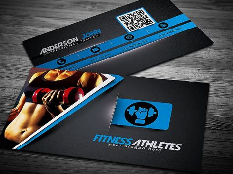 25 fitness business card templates free premium