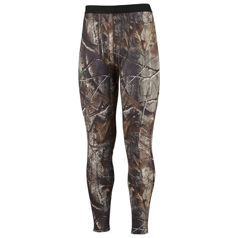 base for real tree columbia s phg omni heat camo base layer midweight tight