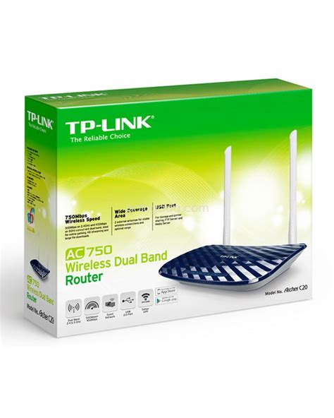 Tp Link Archer C20 Ac750 Wireless Dual Band Router Wifi Hotspot Ap tp link archer c20 ac750 wireless dual band router