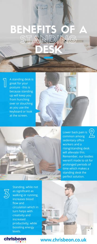 Benefits Of A Standing Desk Chrisbeon Health Benefits Of Standing Desks
