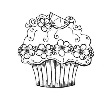 Cupcake Coloring Pages To Print by Coloring Pages Cupcake Printables Az Coloring Pages