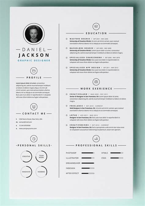 creative curriculum vitae template download 30 resume templates for mac free word documents